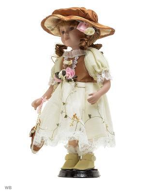 Кукла фарфор 12 Лилиан Angel Collection. Цвет: белый