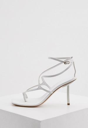 Босоножки Le Silla. Цвет: белый