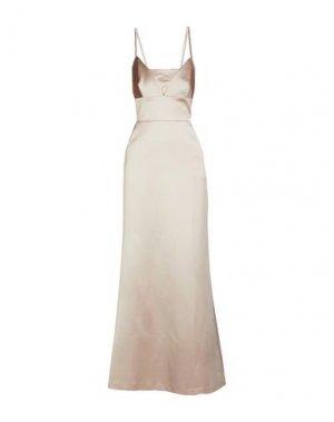 Длинное платье BAILEY 44. Цвет: бежевый