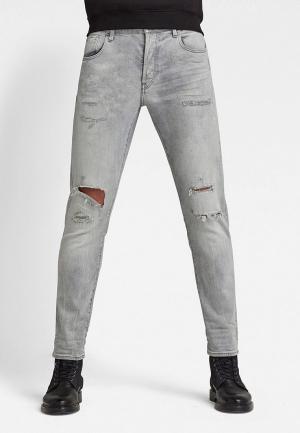 Джинсы G-Star 3301 Slim. Цвет: серый