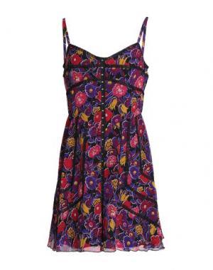 Короткое платье ANNA SUI. Цвет: фиолетовый