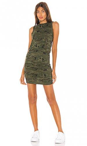 Мини платье majorica n:philanthropy. Цвет: зеленый