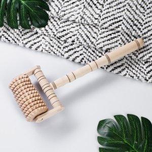 Массажер деревянный, 28 см, бук Доброе дерево