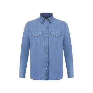 Джинсовая рубашка Tom Ford. Цвет: синий