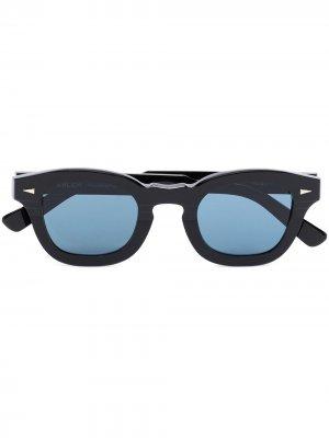 Солнцезащитные очки Le Marais в D-образной оправе Ahlem. Цвет: синий