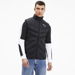 Жилет PWRWarm packLITE Down Vest PUMA. Цвет: черный
