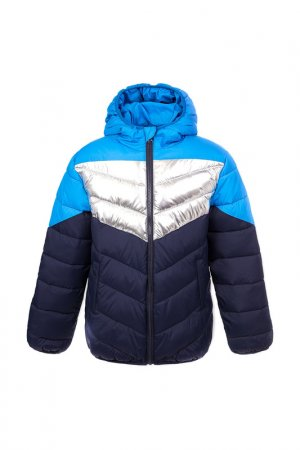 Куртка PlayToday. Цвет: синий;синий;серебристый