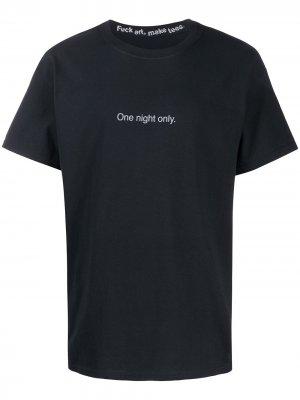Футболка с принтом One Night Only F.A.M.T.. Цвет: черный