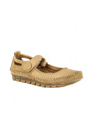 Туфли закрытые HCS. Цвет: бежевый