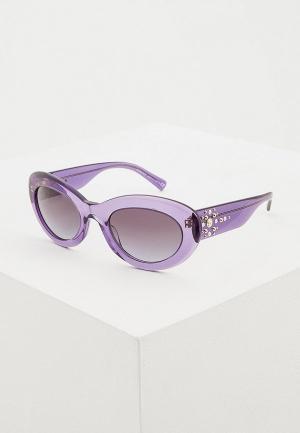 Очки солнцезащитные Versace VE4355B 51603C. Цвет: синий