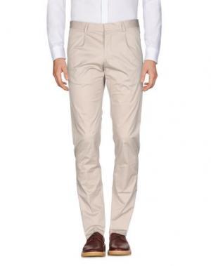 Повседневные брюки HAMAKI-HO. Цвет: бежевый