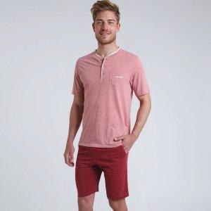 Пижама La Redoute. Цвет: красный
