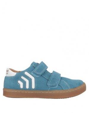 Низкие кеды и кроссовки BISGAARD. Цвет: пастельно-синий