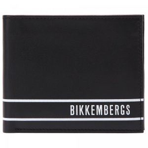 Бумажник Bikkembergs. Цвет: чёрный