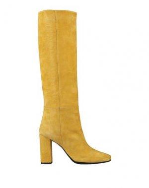 Сапоги ANNA F.. Цвет: желтый