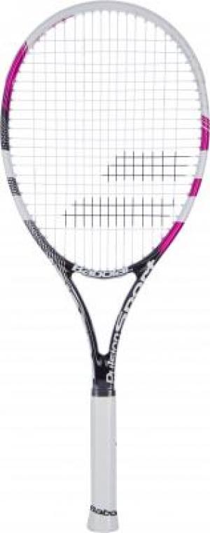 Ракетка для большого тенниса Pulsion Sport Srtung Babolat. Цвет: белый