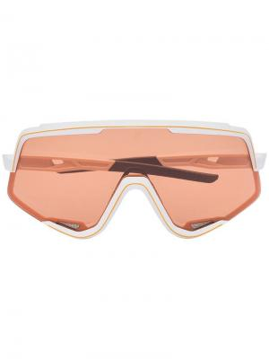 Солнцезащитные очки Glendale 100% Eyewear. Цвет: белый