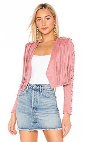 Куртка rylan NBD. Цвет: розовый