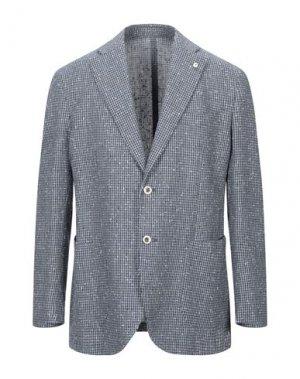Пиджак BRANDO. Цвет: синий