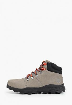 Ботинки Timberland Brooklyn Hiker STEEPLE GREY. Цвет: серый