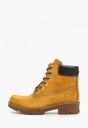 Ботинки Excavator. Цвет: бежевый