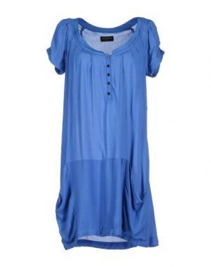 Короткое платье LOREAK MENDIAN. Цвет: синий