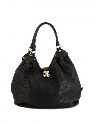 Сумка на плечо pre-owned с монограммой Louis Vuitton. Цвет: черный