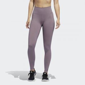 Леггинсы для фитнеса Believe This 2.0 Long Performance adidas. Цвет: фиолетовый