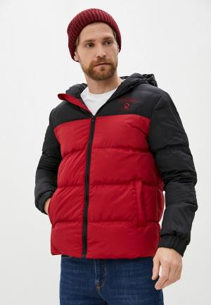 Куртка утепленная Giorgio Di Mare. Цвет: бордовый