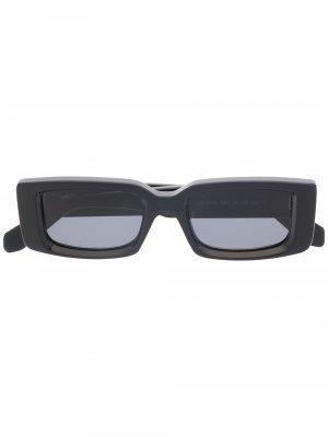 Солнцезащитные очки Arthur в прямоугольной оправе Off-White. Цвет: черный