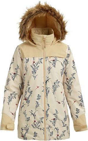 Куртка утепленная женская Lelah, размер 46-48 Burton. Цвет: бежевый
