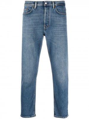 Укороченные джинсы River Acne Studios. Цвет: синий