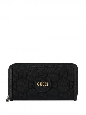 Кошелек Off Grid с узором GG Supreme Gucci. Цвет: черный