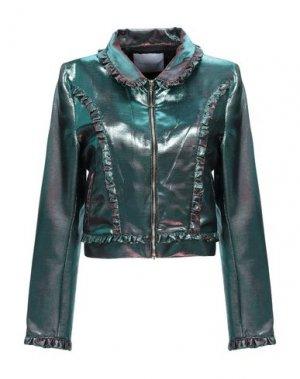 Пиджак PARAKIAN. Цвет: бирюзовый
