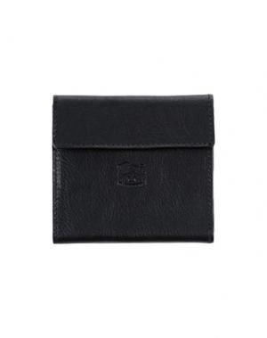 Бумажник IL BISONTE. Цвет: черный