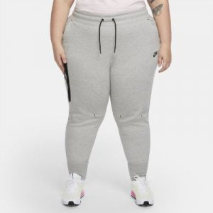 Женские брюки Nike Sportswear Tech Fleece (большие размеры) - Серый