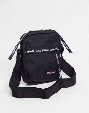 Сумка через плечо для полетов с логотипом  One-Черный цвет Eastpak