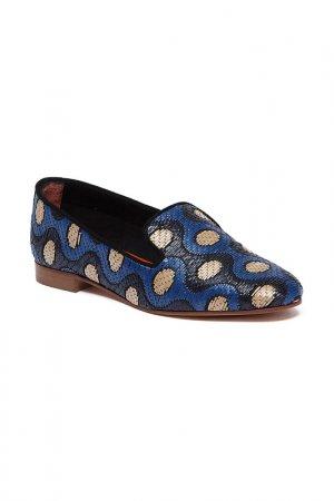 Туфли BAGATT. Цвет: black, blue