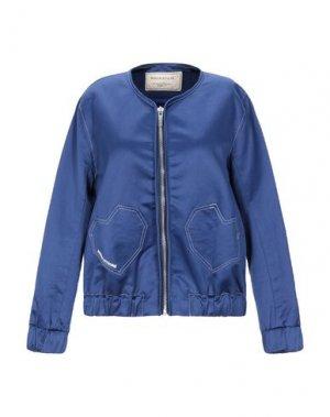 Куртка MAISON KITSUNÉ. Цвет: синий