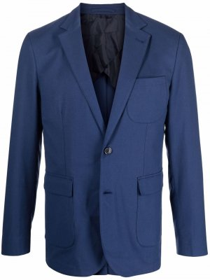 Edgar long-sleeved blazer Orlebar Brown. Цвет: синий