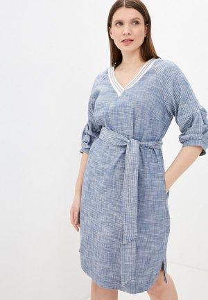 Платье Electrastyle. Цвет: голубой