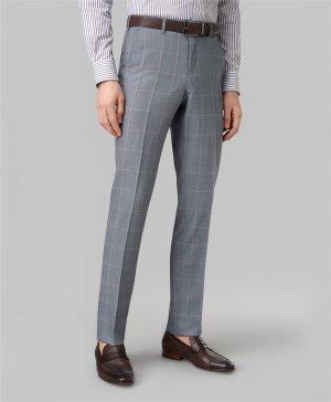 Костюмные брюки HENDERSON. Цвет: голубой