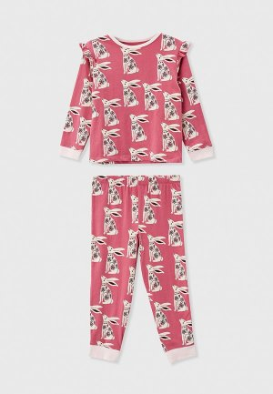 Пижама Cotton On. Цвет: розовый
