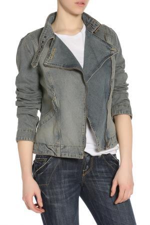 Куртка джинс See by Chloe. Цвет: голубой