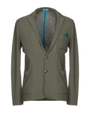 Пиджак BARK. Цвет: зеленый-милитари