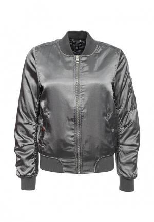 Куртка утепленная Topshop. Цвет: разноцветный