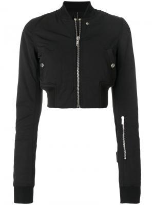 Укороченная куртка-бомбер Flight Rick Owens DRKSHDW