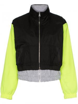 Многослойная куртка-бомбер Natasha Zinko. Цвет: черный