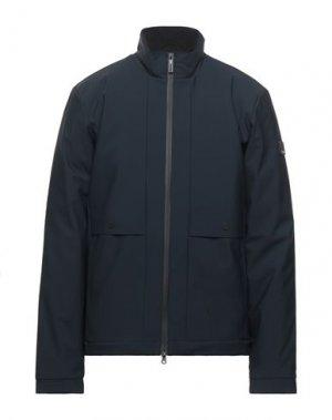 Куртка EA7. Цвет: темно-синий