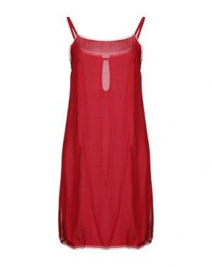 Короткое платье FAIRLY. Цвет: красный